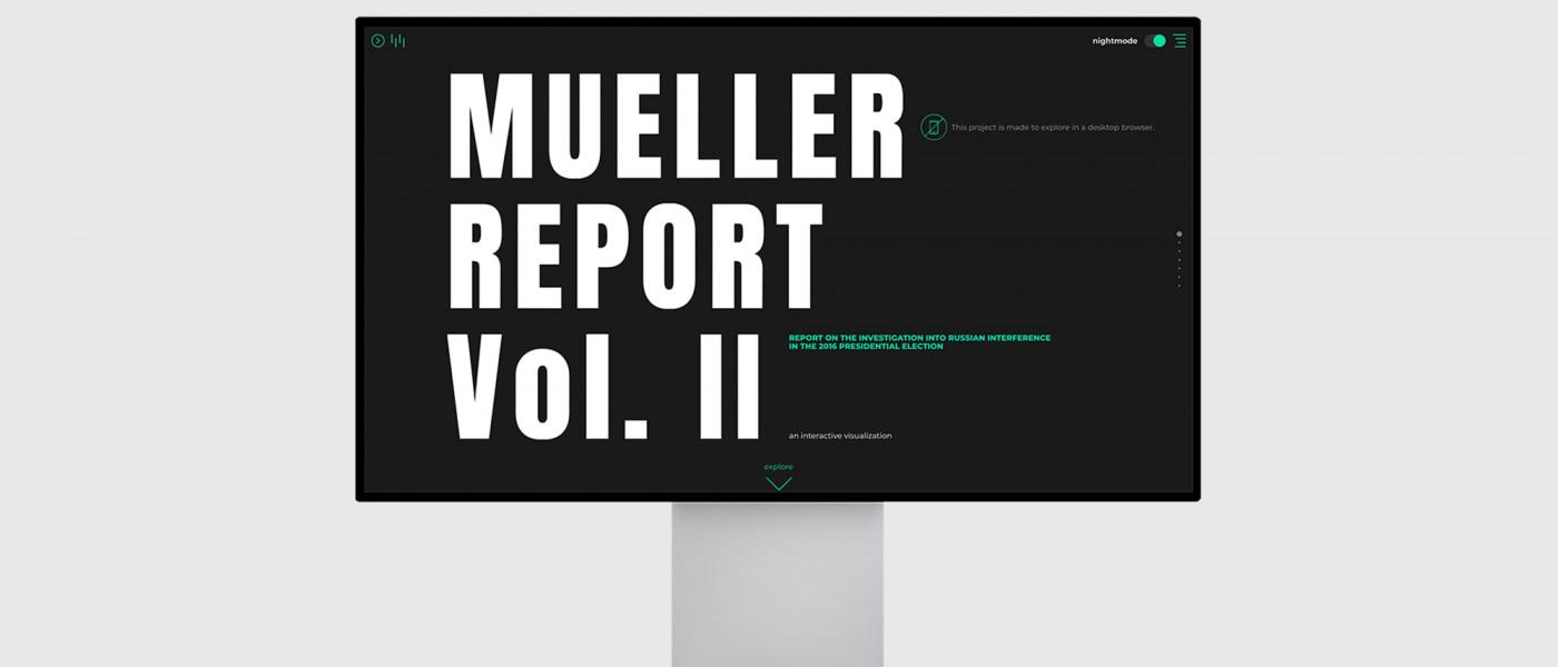 MUELLER REPORT VOL. II