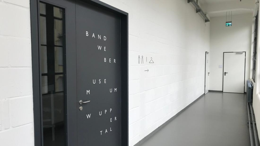 Visueller Auftritt für das Bandwebermuseum Wuppertal