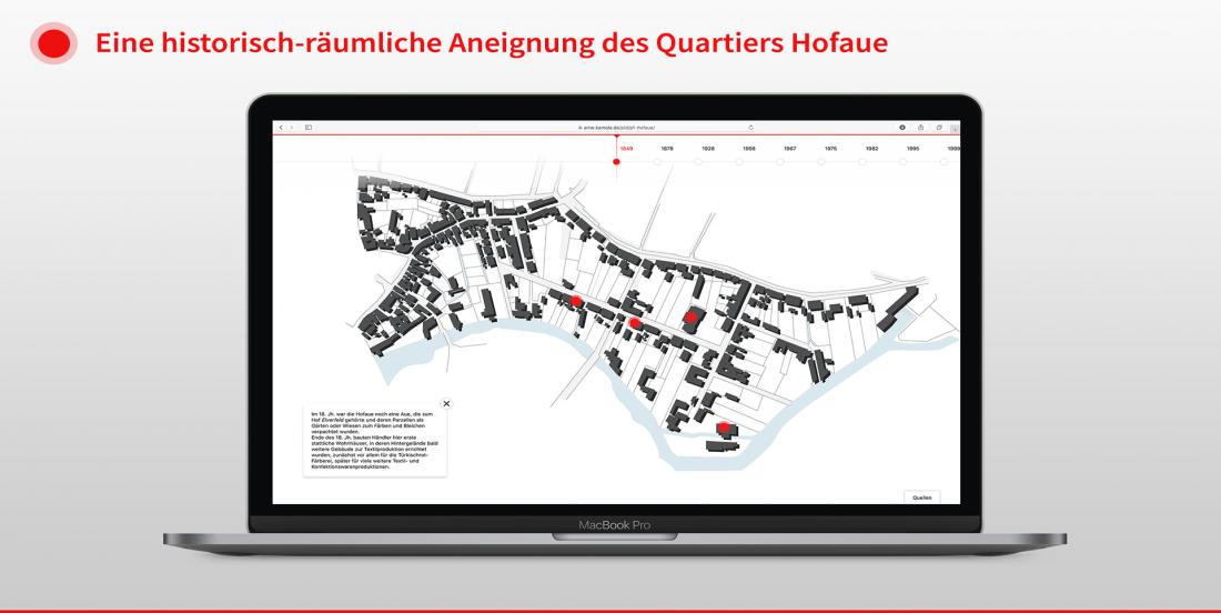 Eine historisch räumliche Aneignung des Quartiers Hofaue